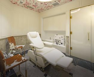 腸内洗浄室の写真を紹介